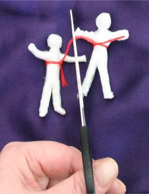 Cutting The Ties That Bind Us with poppet magic