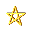 Symbols For Magic: Pentagram, Pentacle, Spiral & Star