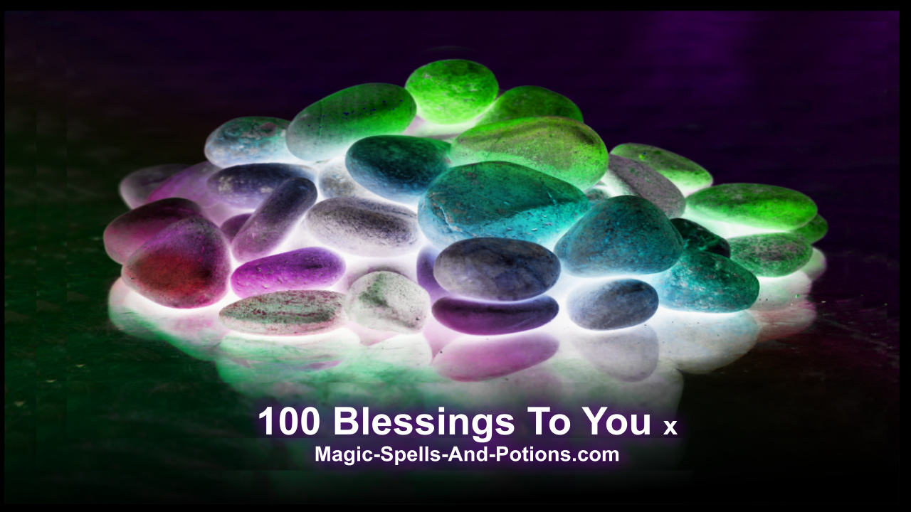 100 river pebbles for magic ritual 100 blessings