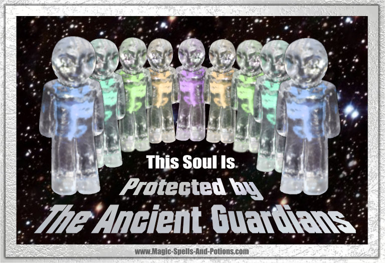 Soul Protection (against magic attacks) This soul is protected by the Ancient Guardians.