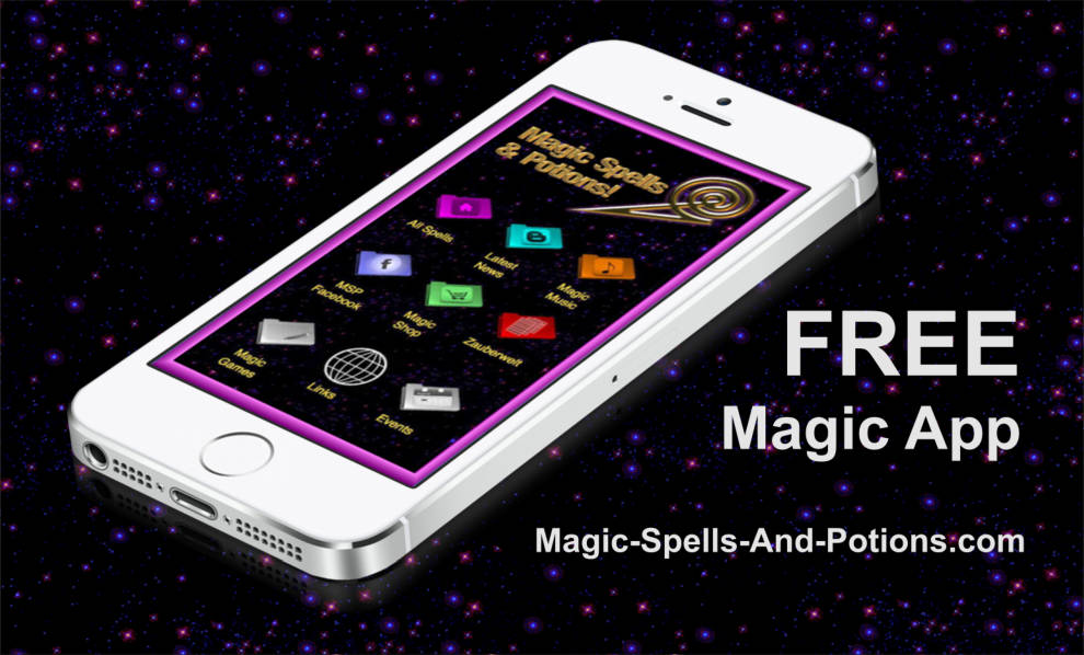 The Official Magic, Spells & Potions Magic App