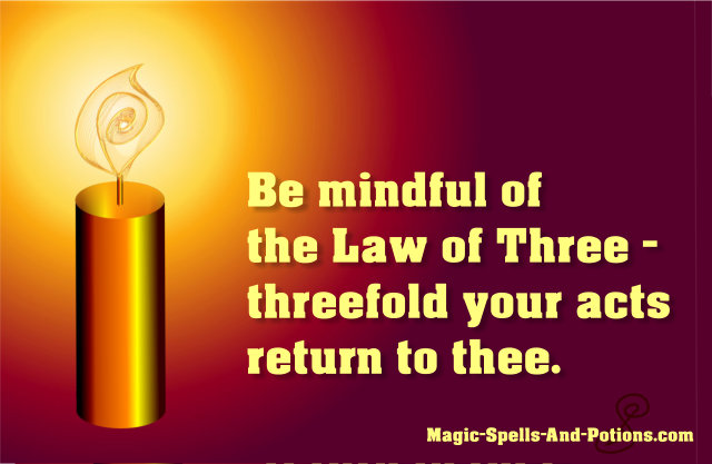 The Law of Three (was The Rule of Three)
