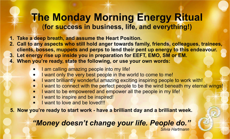 Monday Morning Energy Ritual For Success