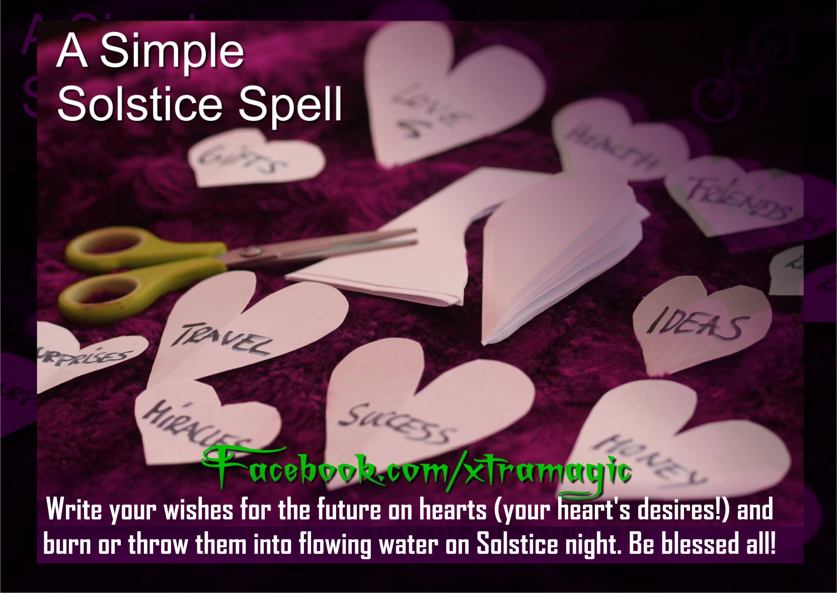 Simple Solstice Spell