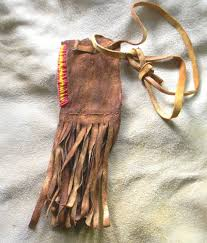 Old traditional Native American Medicine Pouch