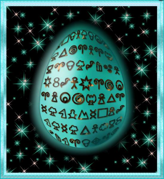 Magic Symbol Egg, featuring The Genius Symbols by SFX