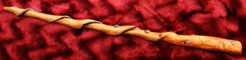 Real Magic Wand - an advanced and very powerful tool for energy magic, hand made