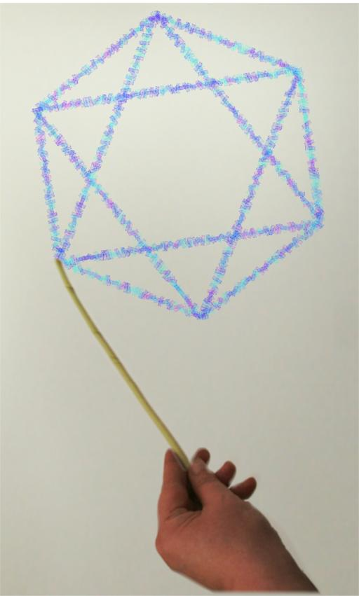 Magic wand draw shapes